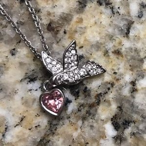 13c64d362434 Swarovski Jewelry - Swarovski Crystal Bird Pendant